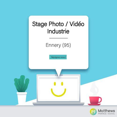 Stage Photo / Vidéo Industrie – H/F